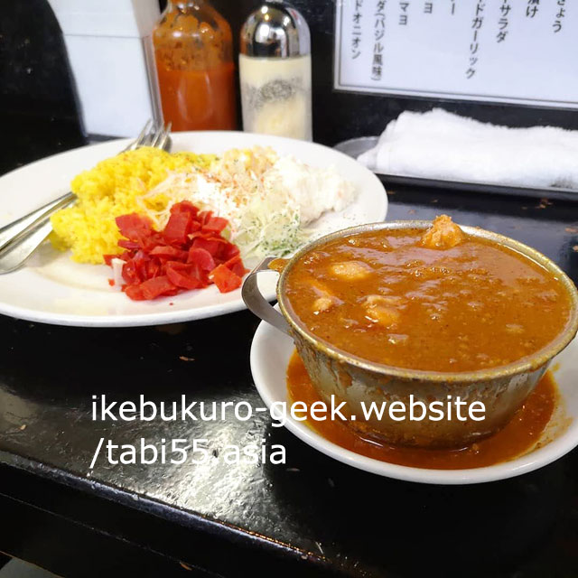 Ikebukuro Japanese CurryRice/Curry is a drink