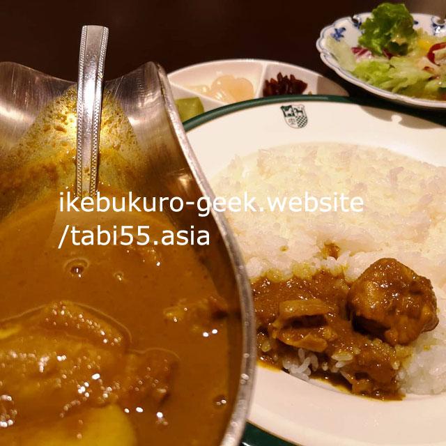 Ikebukuro Japanese CurryRice/Shinjuku nakamuraya ikebukuro