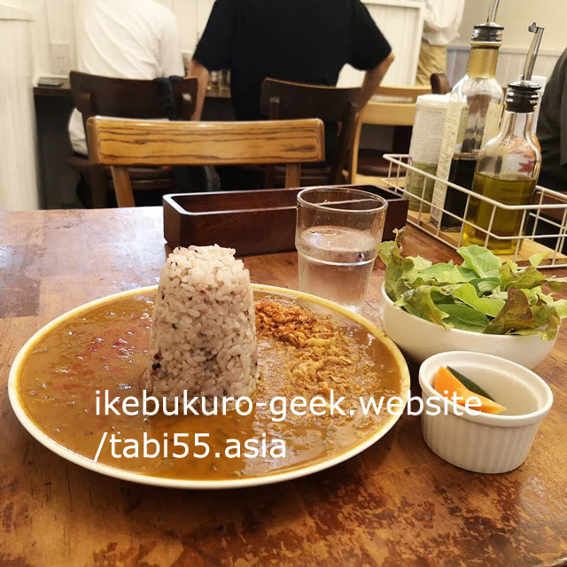 Ikebukuro Japanese CurryRice/Ginger & Star Cafe