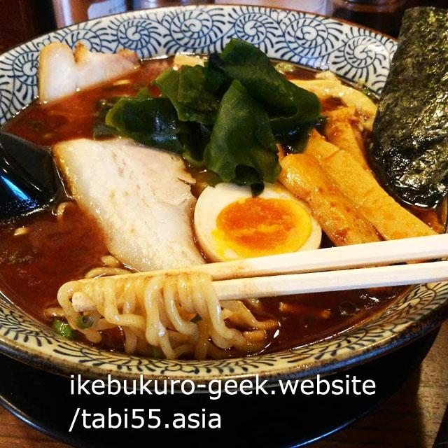 Ikebukuro Gyokai (seafood) soup Raman/TONCHIN