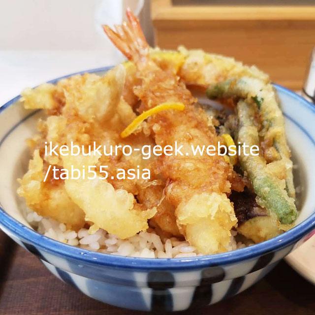 Ikebukuro Tempra,Tendon/MAGURO-ICHIBA