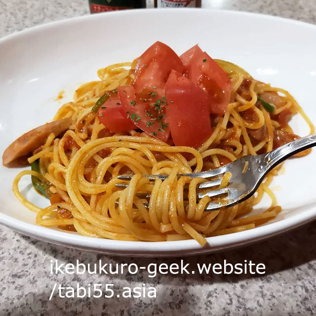 Spaghetti Napolitan in Ikebukuro/Flamingo