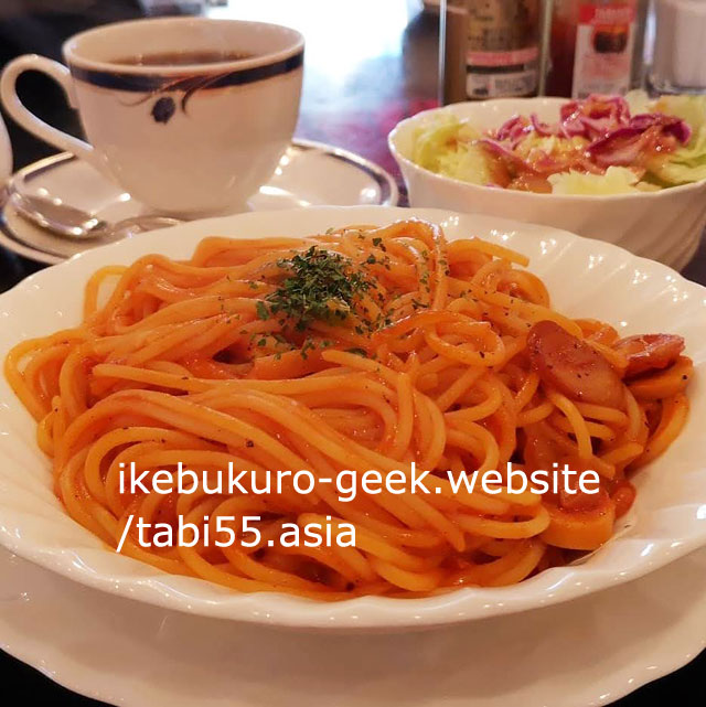 Spaghetti Napolitan in Ikebukuro/Cafe de Paris