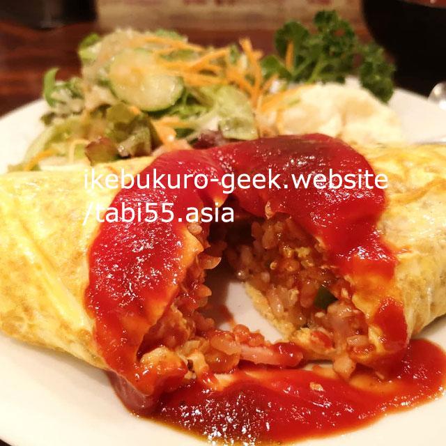 OmuRice in Ikebukuro/Kitchen Chec