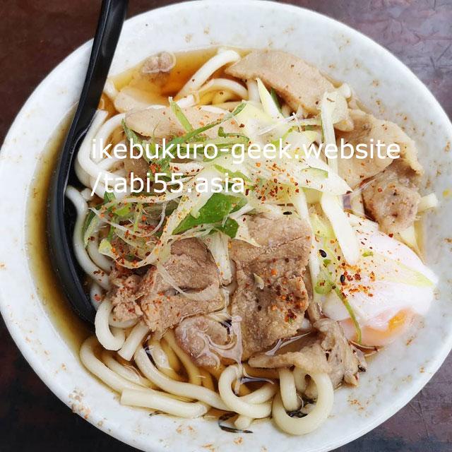 Ikebukuro Udon Noodle/Nanten Honten(Shiinamachi St.)
