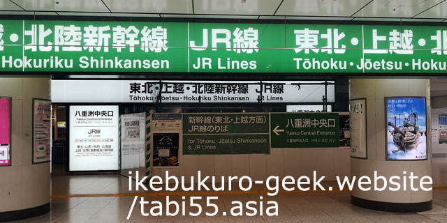 Transfer to the Yamanote Line at Tokyo Station