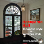 Must to see at Hatoyama Hall!Rose,Stained glass …