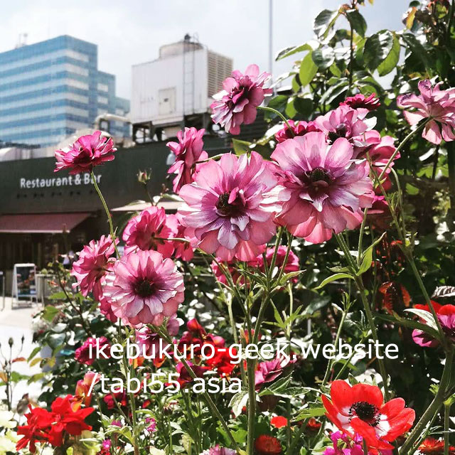 Spring(March to May)@Rooftop Seibu Ikebukuro Department Store