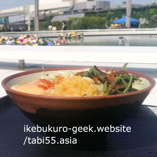 You can eat SANUKI UDON@Rooftop Seibu Ikebukuro Department Store