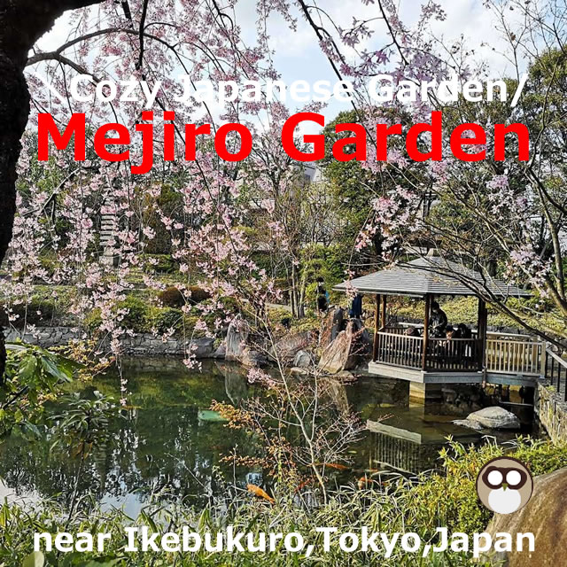 Mejiro Garden!Spring and autumn are recommended(Tokyo,Japan)