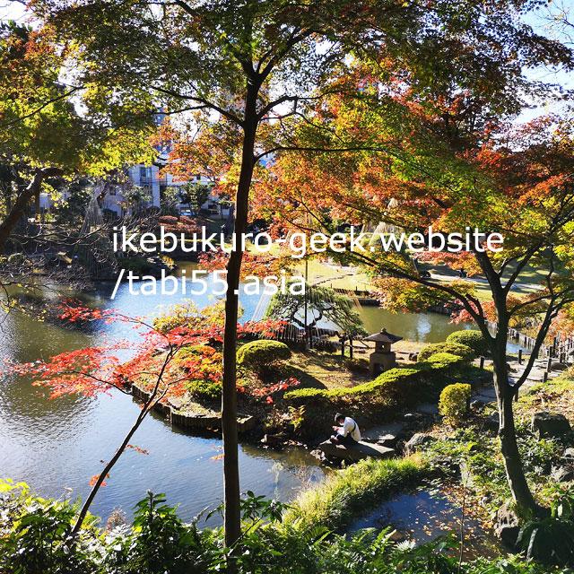 Autumn leaves@Higo-Hosokawa Garden