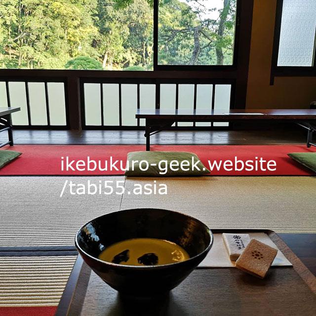Cafe Tsubaki@Higo-Hosokawa Garden