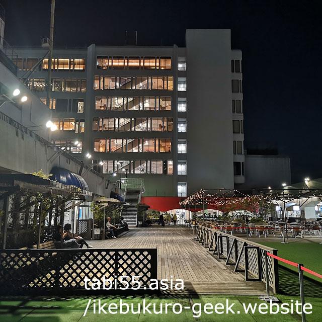 Tobu Department Store 8th floor rooftop@Ikebukuro Night Photography Spots