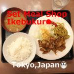 Diner(Set Meal Shop)Ikebukuro,Tokyo, Japan